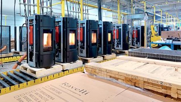 Ravelli pelletkachelfabriek